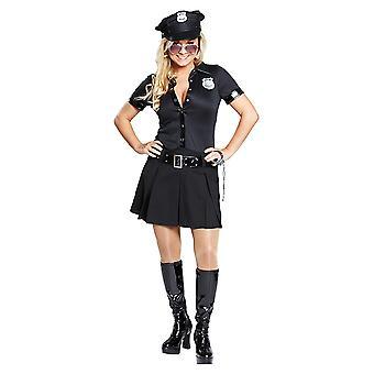Sexy Polizistin Polizistinkostüm Kleid Kostüm für Damen