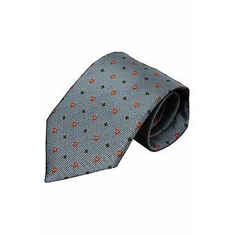 Gri İpek kravat Valda 01