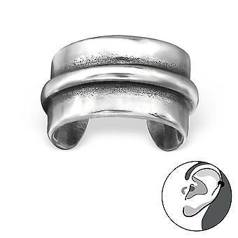 Plain - 925 Sterling zilveren Ear manchetten - W28187x