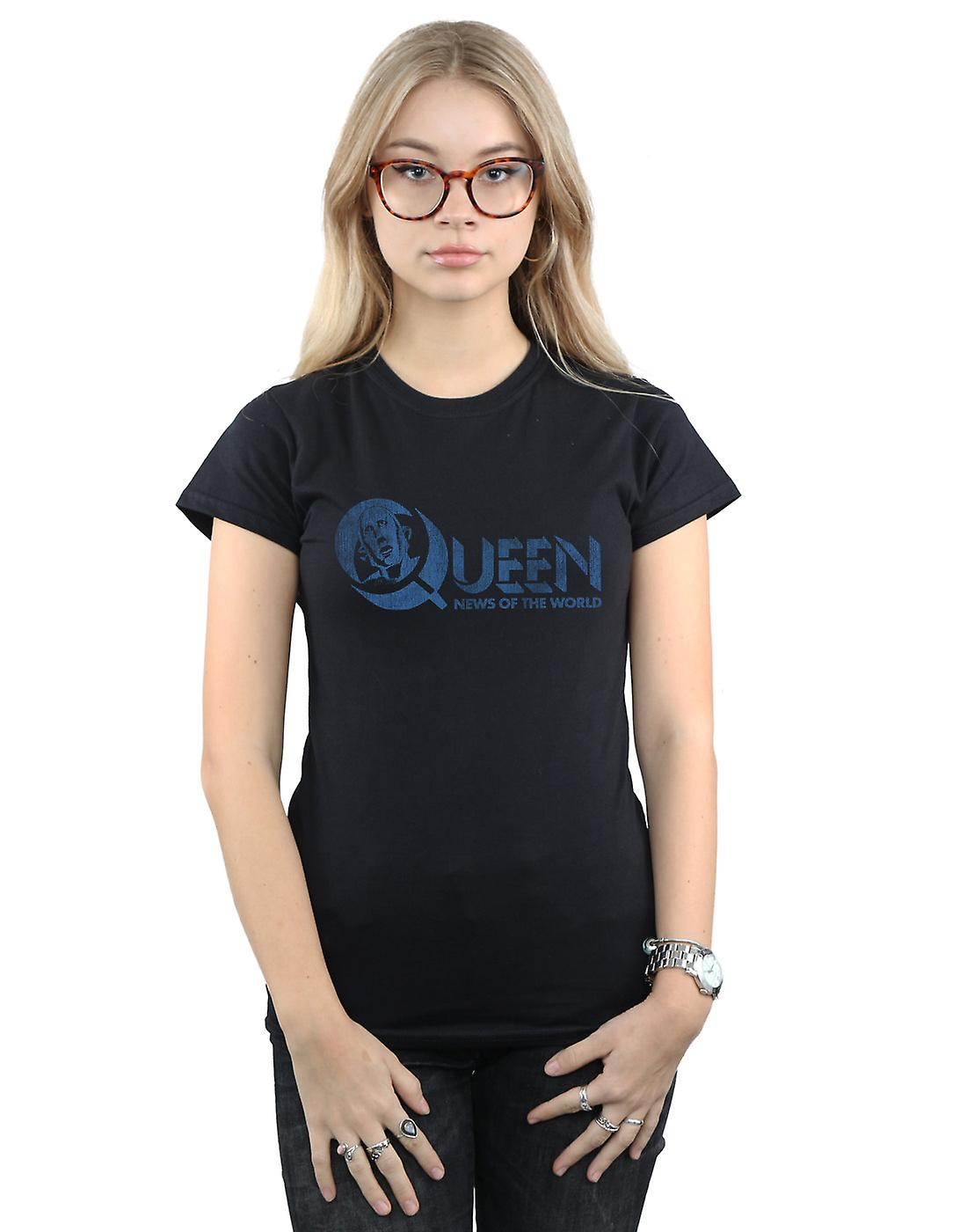 Queen Women's Distressed News Of The World T-Shirt