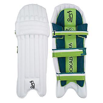 Kookaburra 2019 Kahuna 3.0 Cricket battuta pastiglie gamba guardie bianco/verde