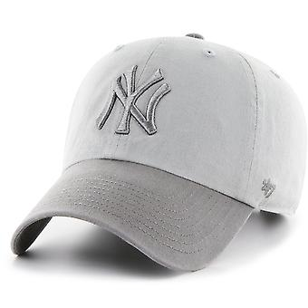 47 le feu relaxed fit Cap - CLEAN UP New York Yankees gris