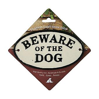 Best Pets Beware Of The Dog Cast Iron Sign