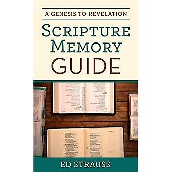 Een Genesis tot openbaring Scripture Memory gids