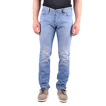 Jeckerson Ezbc069030 Men's Blue Cotton Jeans