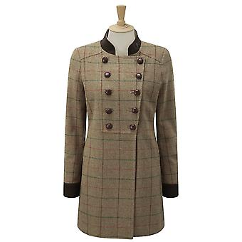 Caldene Womens/Ladies Rosedene Military Tweed Country Coat
