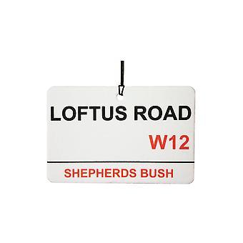 QPR / Loftus Rd Street Sign Car Air Freshener