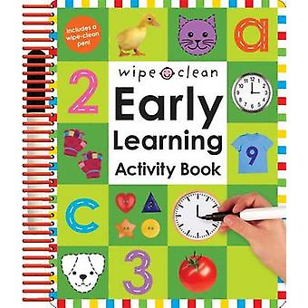 Wipe Clean Early Learning Activity Book by Roger Priddy - 97803124992