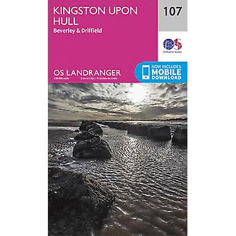 Kingston Upon Hull - Beverley & Driffield (February 2016 ed) by Ordna