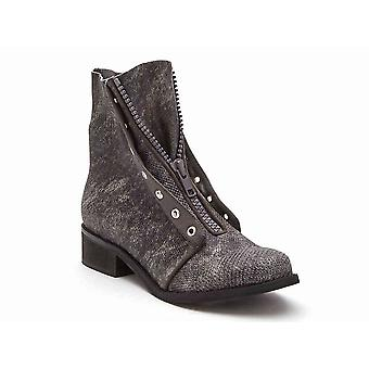 Coconuts Womens Swiss Fabric Closed Toe Ankle Fashion Boots