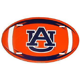 Auburn Tigers NCAA Oval License Plate