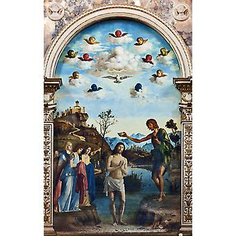Taufe Christi, CIMA da Conegliano, 60x38cm