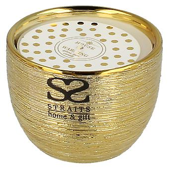 Straits Glass Pot Wax Fragranced Candle 18475