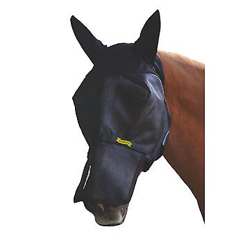 Absorbine UltraShield Fly Mask with Ears and Removable Nose