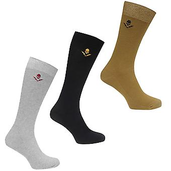 Firetrap Mens Textured Socks