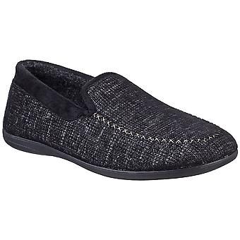 Cotswold Mens Stanley Lightweight Slip On Loafer Slippers