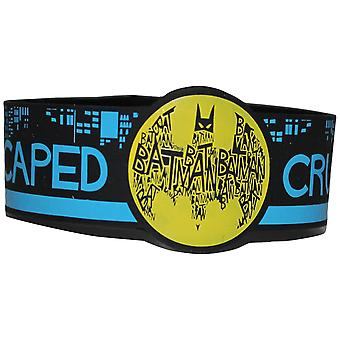 Wristband - DC Comics - Batman Caped Crusader Gifts rwb-dc-0009
