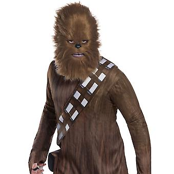 Star Wars chewy Chewbacca turkis puoli naamio