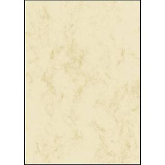 Sigel DP181 Motif printer paper Marble A4 90 gm² Beige 25 sheet