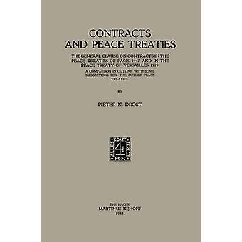 Sopimusten ja rauhan sopimusten yleislauseke pari isin 1947 rauhan sopimuksissa ja Versaillesin rauhan sopimuksessa 1919. Vertailu ääri viivat joitakin ehdotuksia FUT Drost & Pieter Nicolaas