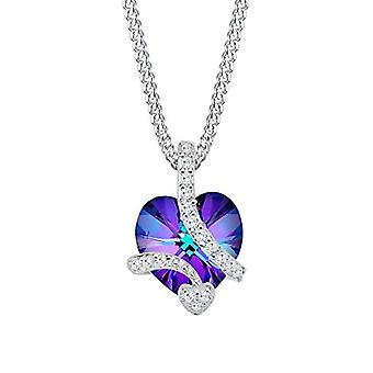 Elli silver hängsmycke halsband 925 med Swarovski kristaller 0106231714_45
