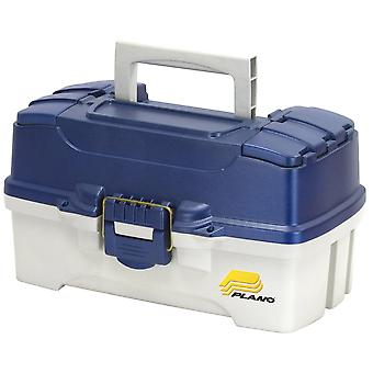 Plano Two Tray Fishing Tackle Box - Modèle: 6202-06 - Bleu/Blanc