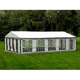 Marquee PLUS 4x10 m PE, Grey/White