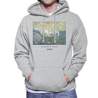 A.P.O.H Munch Momento Mori Men's Hooded Sweatshirt