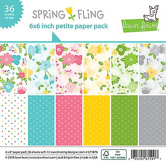 Lawn Fawn Single-Sided Petite Paper Pack 6