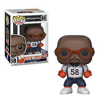 ¡NFL Broncos Von Miller Pop! Vinilo