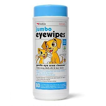 Petkin Wipes Eye pkt 80