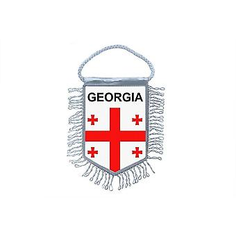 Vlag mini vlag land auto decoratie Georgien Georgien