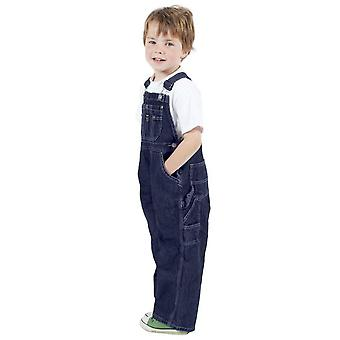 Key childrens denim dungarees