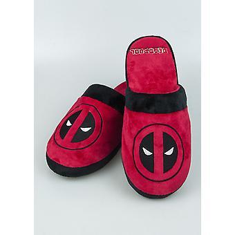 Deadpool (dode pool) mens mule slippers (anti slip zolen)