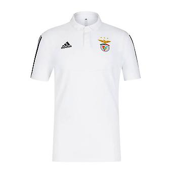 2019-2020 بنفيكا أديداس بولو قميص (أبيض)
