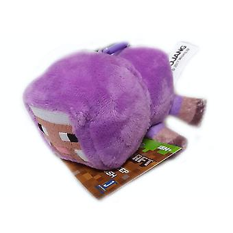 Minecraft Series 1 Pluszowy Klip Baby Purple Sheep Zabawka