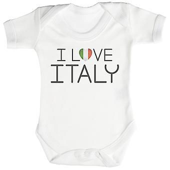 Ik hou van Italië Baby Romper / Babygrow