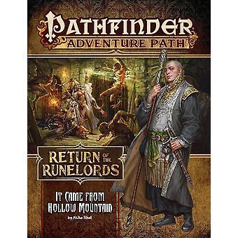 Pathfinder eventyr det kom fra Hollow Mountain Return af Runelords 2 af 6