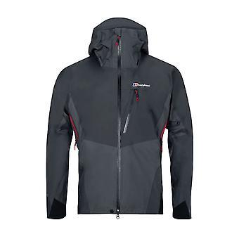 Berghaus Changste mens Vattentät GoreTex full zip jacka Coat grå