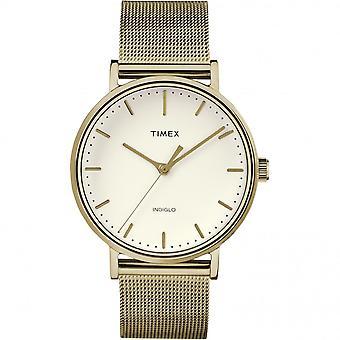 Timex TW2R26500 Weekender Fairfield Gold Tone Wristwatch