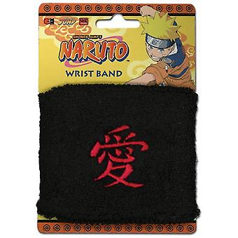 Sweatband - Naruto Shippuden - New Anime Gaara's Love Kanji Licensed ge7718