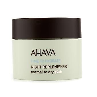 Ahava Time To Hydrate Night Replenisher (Normal to Dry Skin) 50ml/1.7oz