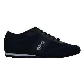 Hugo Boss Footwear Hugo Boss Men's Dark Blue Lighter Lowp Mesh Trainers