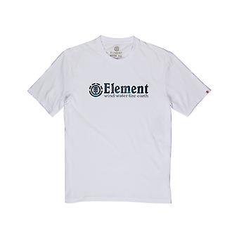 Element Boro Short Sleeve T-Shirt em branco óptico