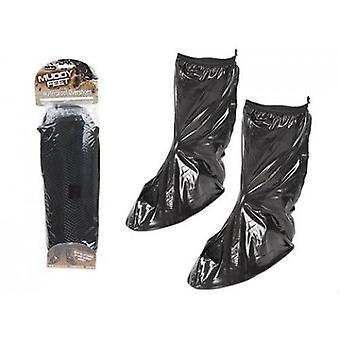 Summit Muddy Feet Waterproof Overshoes Small Black
