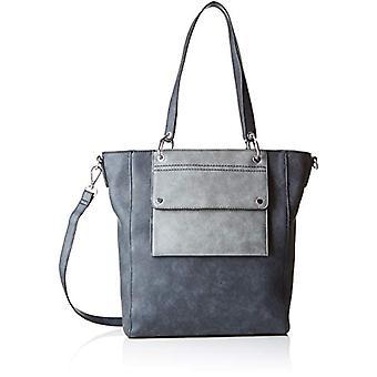 s.Oliver (Bags) Shopper - Grey Women's Bucket Bags (Slate Grey) 8x30x25 cm (B x H T)