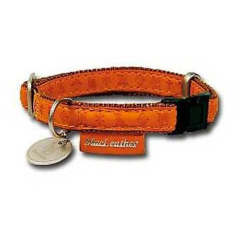 Nayeco MacLeather braunes Hundehalsband S. (Hunde , Für den Spaziergang , Halsbänder)