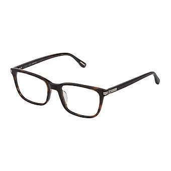 Dunhill VDH185M 01AY Shiny Dark Havana Glasses
