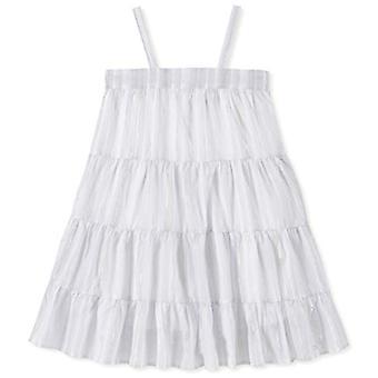 Calvin Klein Big Girls' Sleeveless Fashion Dress, White, XL16