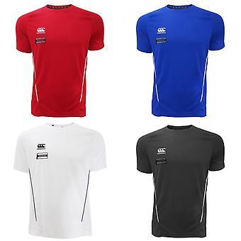 Canterbury Mens Team kuiva kosteutta lyhythihainen t-paita
